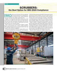 MP Q3-19#10 OP/ED SCRUBBERS:  the Best Option for IMO 2020 Compliance 20