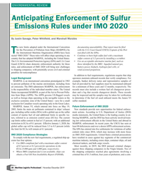 MP Q4-19#20 ENVIRONMENTAL REVIEW Anticipating Enforcement of Sulfur