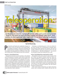 MP Q4-19#44  Konecranes Teleoperation: As the pressures mount to improve