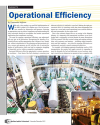 MP Q4-19#46 INSIGHTS Operational Effciency By Cassandra Higham ith