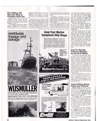 MR Apr-74#39  43 Box 1051  Glendive. Montana 59330  42 Maritime Reporter/E