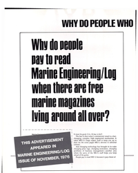 MR May-15-77#26   Why do people pay to read  Marine Engineering/Log when there