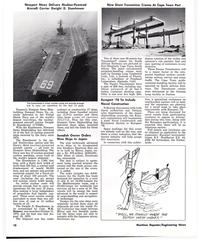 MR Oct-77#12   Aircraft Carrier Dwight D. Eisenhower  New Giant