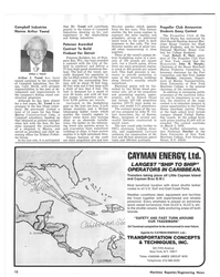MR Jan-78#10  has announced its  43rd Harold Harding Annual Mar- itime