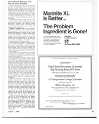 MR Aug-78#31 Ocean Minerals Recovered From  Floor Of Pacific By OMCO