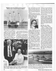 MR Nov-78#20 Bethlehem Beaumont Shipyard Delivers Fourth  Offshore Rig
