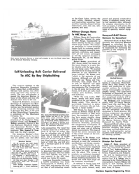 MR May-15-80#10 Bulk carrier American Mariner is latest self-unloader to