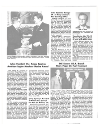 MR Apr-15-81#66 President Reagan congratulates W.J. Amoss Jr., president