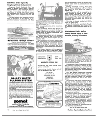 MR Nov-15-81#10  F.  Towey, and the 7,000-hp Theresa Seley.  Westinghouse