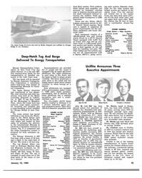 MR Jan-15-83#41  Modec  Louisiana Shipyard in LaRose,  La., in 1981. It was