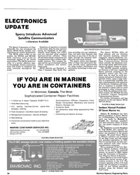 MR Jul-15-86#38 , remote telephones, ves- sel PBXs, and the Sperry Integrated
