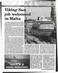 MR Aug-96#14 Viking Su  job welco  in Malta  Despite its failure to