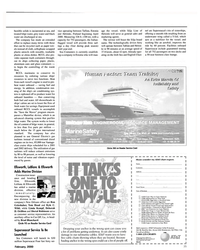 MR Feb-00#35  and  energy. In addition, condensation run- ning of the ship