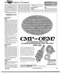 MR Jun-15-00#49  entire marine industry  45  CMP- OEM?  THE COMPRESSOR