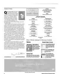 MR Apr-01#6 . Production Manager  Oksana Martemy • martemy@marinelink