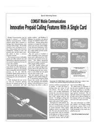 MR May-01#22 , -M, -Mini-M,  COMSAT Mobile ISDN and Aero H  (aeronautical)