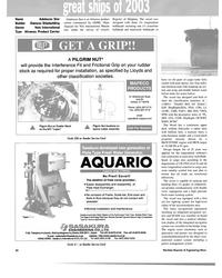 "MR Dec-03#22  Tanker"",  ESP, ShipRight(SDA, FDA, CM), LI,  +LMC, UMS,"