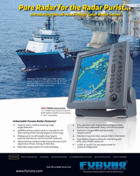 MR Jun-06#7   GMDSS, AIS, Radar and more. G8-FR8002 Radar-MaritimeReporter1
