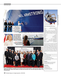 MR May-14#42 42  Maritime Reporter & Engineering News • MAY 2014