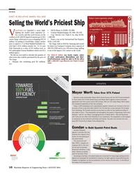 MR Aug-14#10 10  Maritime Reporter & Engineering News ? AUGUST 2014