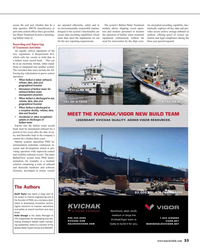 MR Aug-15#33  to ensure vessels  The Authors Geoff Taylor has spent a large
