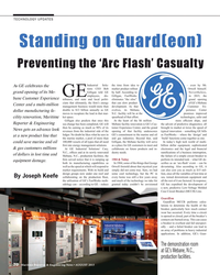 MR Aug-15#70  Guard(eon) Preventing the 'Arc Flash' Casualty  Industrial