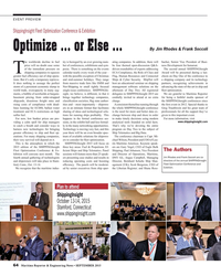MR Sep-15#64 EVENT PREVIEW ShippingInsight Fleet Optimization Conference