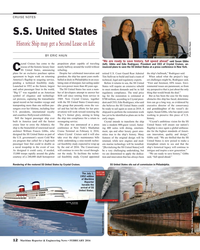 MR Feb-16#12 CRUISE NOTES S.S. United States    Historic Ship may get a