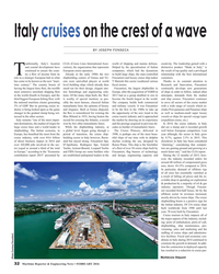 MR Feb-16#32 Italy cruises on the crest of a wave BY JOSEPH FONSECA radit