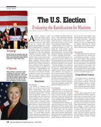 MR May-16#16 LEGAL BEAT The U.S. Election Evaluating the Rami? cations