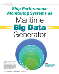 MR Oct-16#44 BIG DATA & DESIGN Ship Performance  Monitoring Systems as
