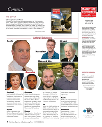 MR Oct-16#4 MARITIME Contents REPORTER AND ENGINEERING NEWS THE