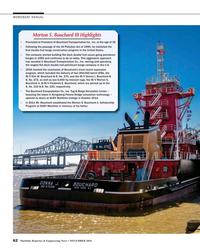 MR Nov-16#62  260,000 barrel ATBs, the    M/V Kim M. Bouchard & B. No. 270