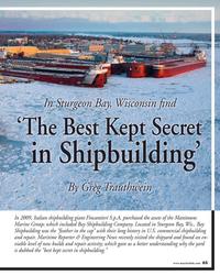 MR Nov-16#65 In Sturgeon Bay, Wisconsin ?  nd 'The Best Kept
