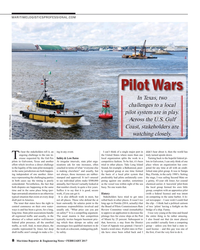 MR Feb-17#8 MARITIMELOGISTICSPROFESSIONAL.COM Pilot Wars In Texas