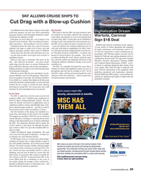 MR Feb-17#29 SKF ALLOWS CRUISE SHIPS TO  Image: Carnival Cut Drag with