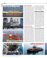 MR Feb-17#50   shore & Marine, who provided EPC ser- emission regulations