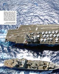 MR Mar-17#20  aircraft carrier USS  Ronald Reagan (CVN 76) works