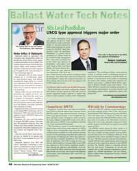 MR Mar-17#68  treatment on vessels  Tore Andersen, CEO, Optimarin owned
