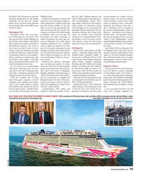 "MR May-17#75  Chinese cruise market,"" said Andy  ney to China. Costa Group"