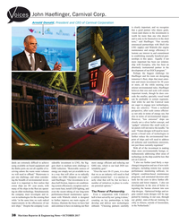 MR Oct-17#38 , Carnival Corp. oices Arnold Donald, President and CEO of
