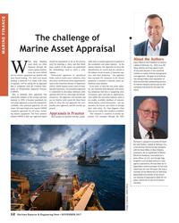 MR Nov-17#12 The challenge of   Marine Asset Appraisal MARINE FINANCE Abo