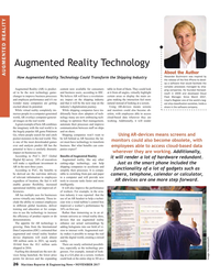 MR Nov-17#26 Augmented Reality Technology About the Author AUGMENTED