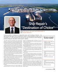 MR Jan-18#39  repair yard in Jacksonville, Florida is well-positioned to