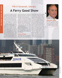 MR Feb-18#14 PVA in Savannah, Georgia  A Ferry Good Show The recent PVA