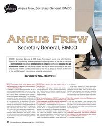 MR Mar-18#24 Angus Frew, Secretary General, BIMCO oices Angus FrewAngus
