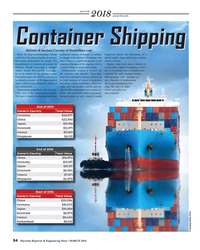 MR Mar-18#54 world yearbook Container Shipping Statistics & Analysis