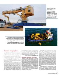 MR Mar-18#67  survey launch, resulting in  Vestdavit: Delivering for NOAA accident