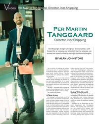 MR Apr-18#20 Per Martin Tanggaard, Director, Nor-Shipping oices Per