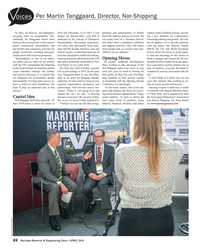 MR Apr-18#22 Per Martin Tanggaard, Director, Nor-Shipping oices As does